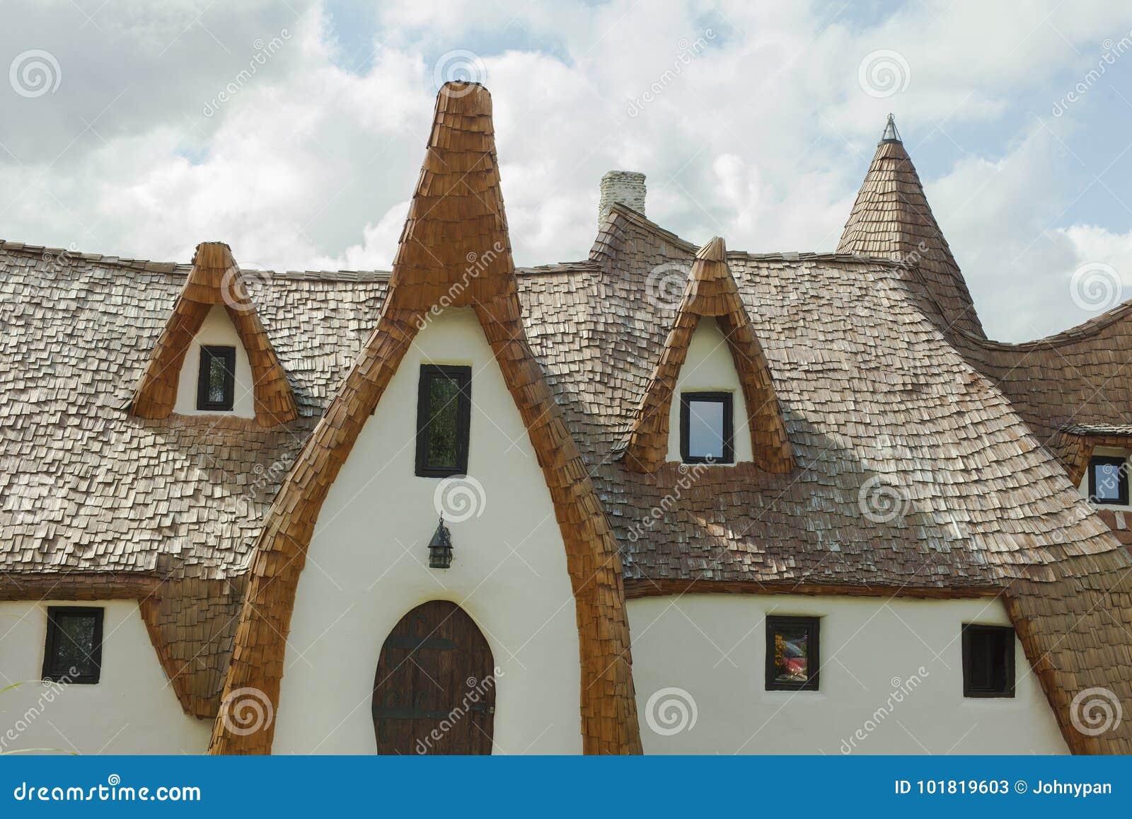 Clay castle in Porumbacu de Sus