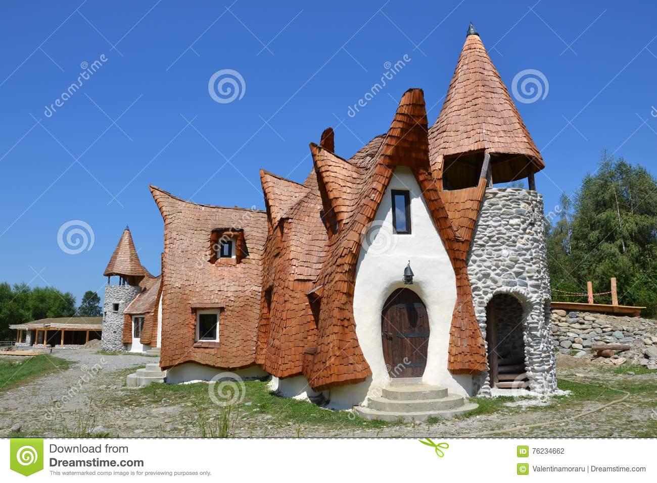 The clay castle