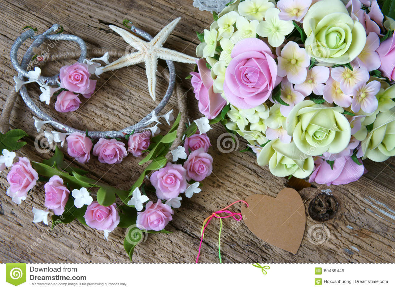 Clay flower wedding handmade stock image image of flowers royalty free stock photo izmirmasajfo Images
