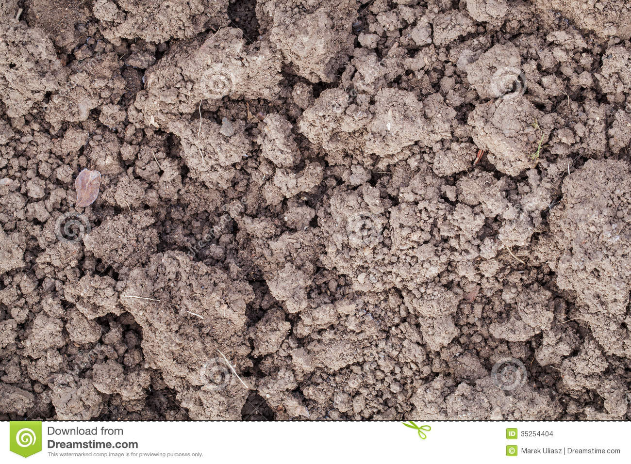 Clay garden soil stock images image 35254404 for Soil content