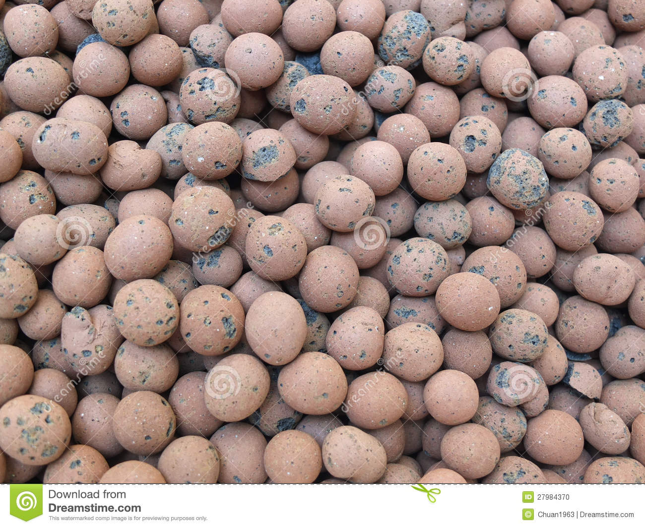 how to make clay pebbles at home