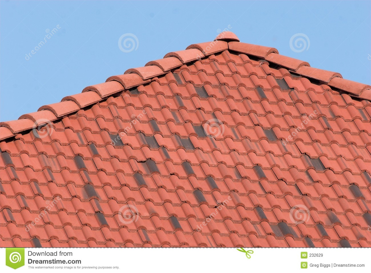 Clay Roof Royalty Free Stock Images Image 232629