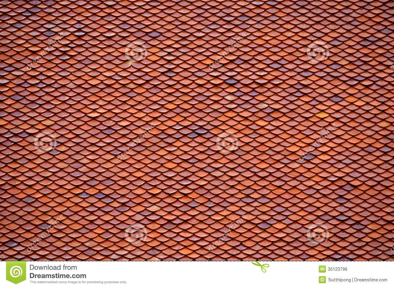 Clay Roof Tiles Stock Photo Image Of Grunge Design