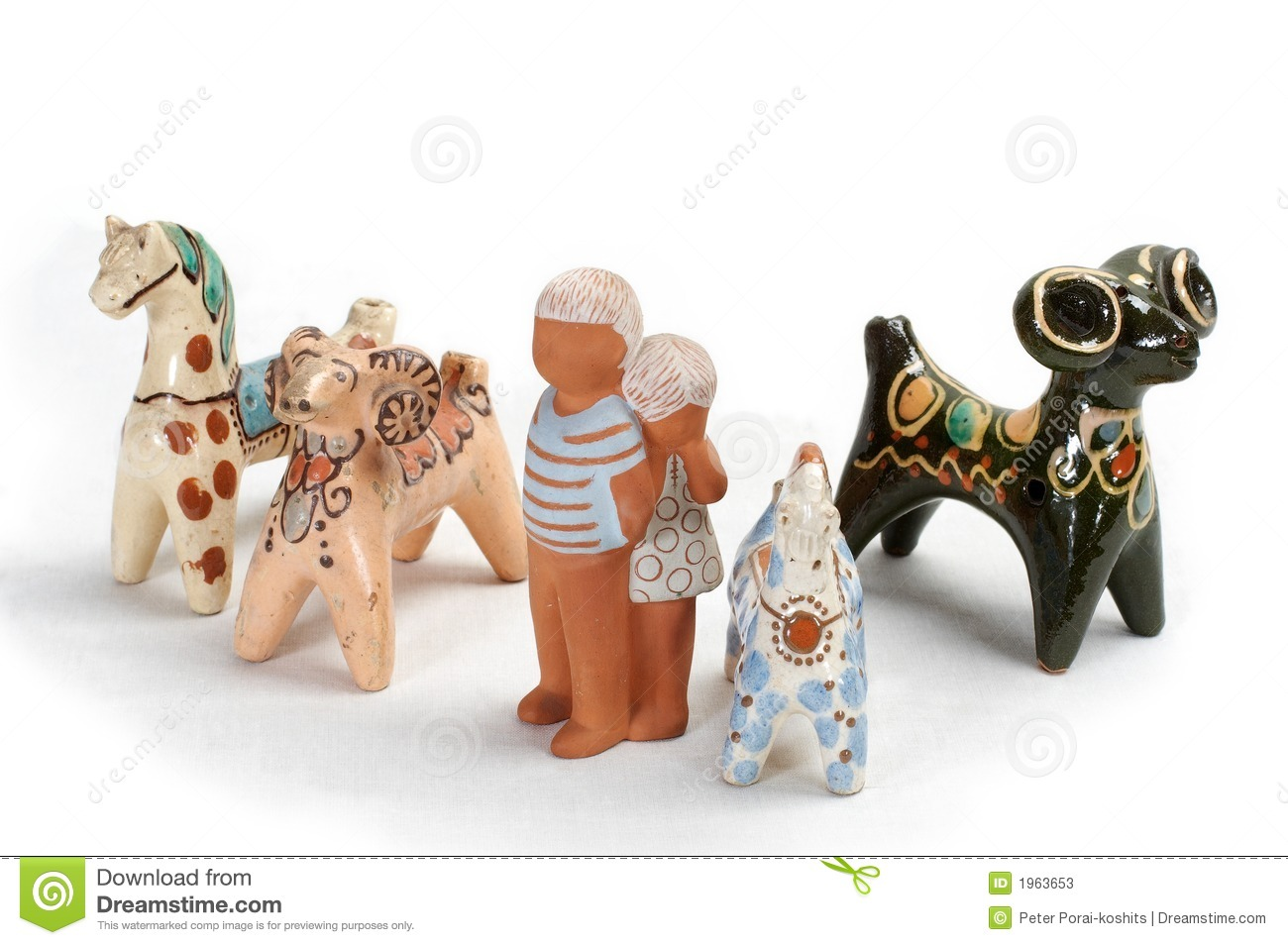 Clay Toys 4 Stock Image Image Of Isolated Colors Children 1963653