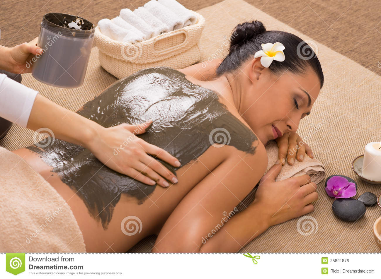 Clay Treatment At Spa verde
