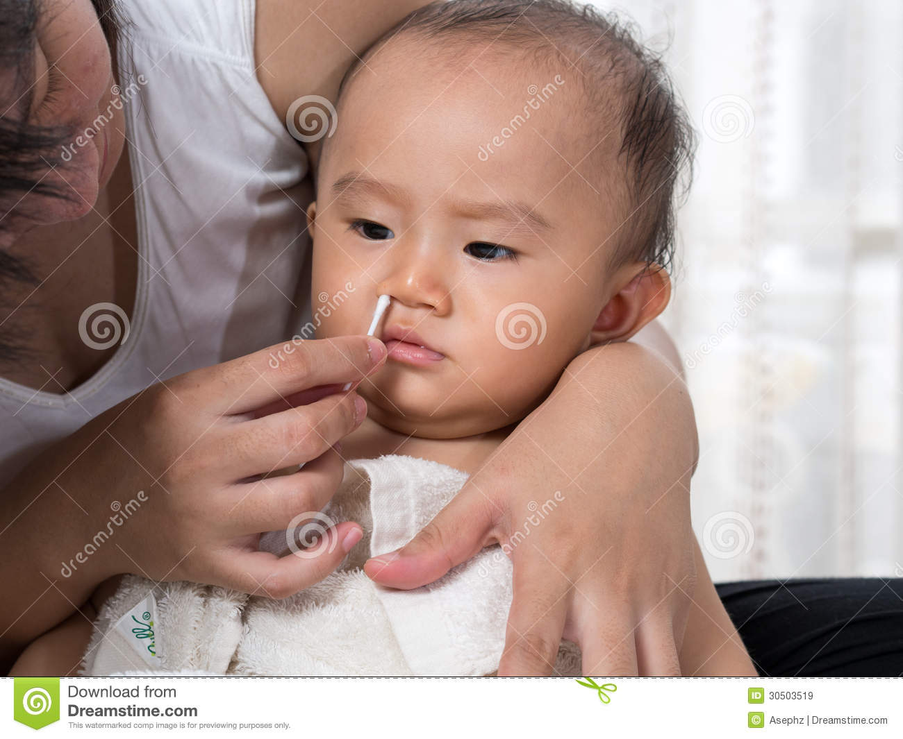 Clean Baby Nose Royalty Free Stock Images Image 30503519