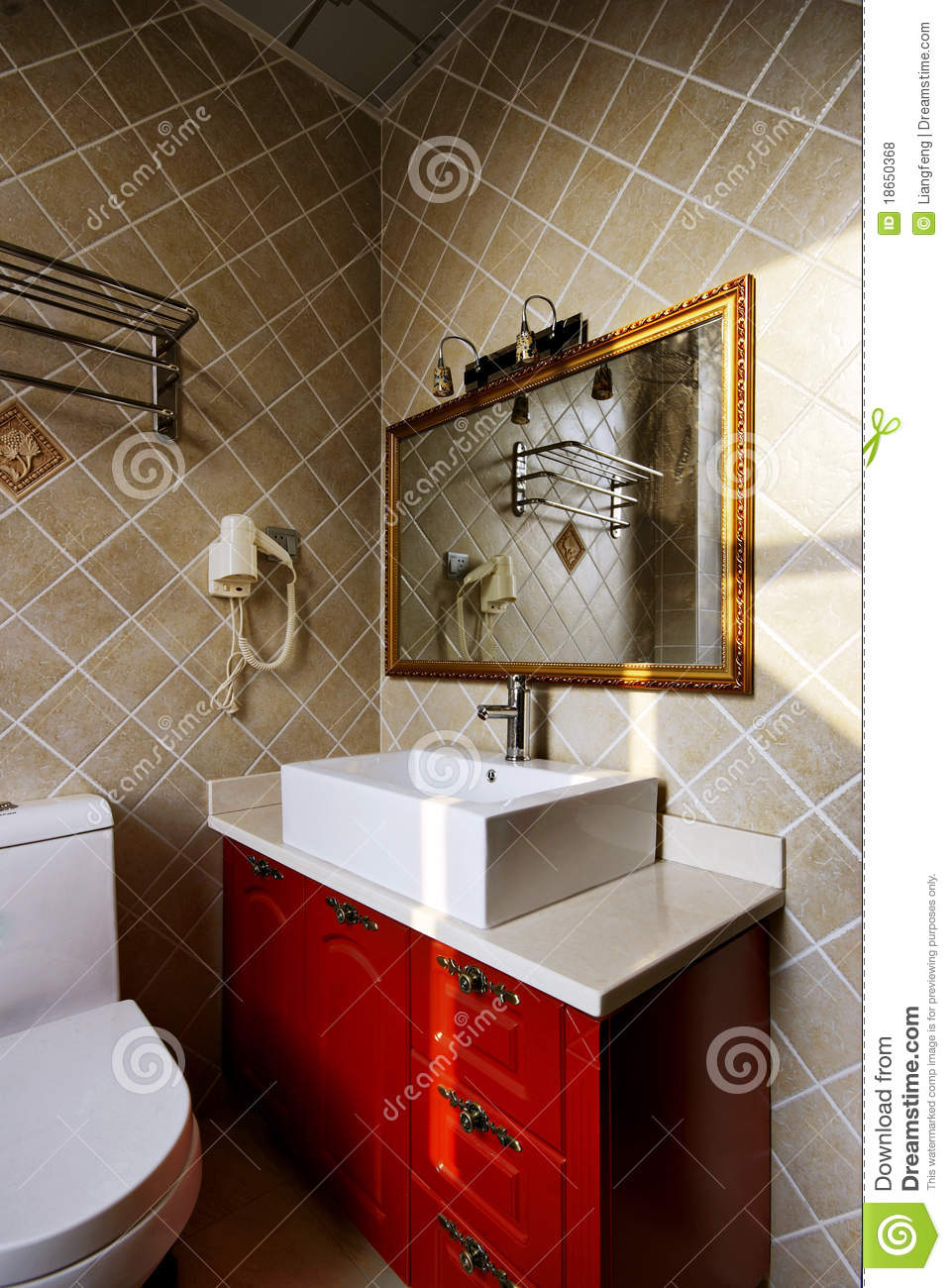 Clean Bathroom Royalty Free Stock Photos Image 18650368