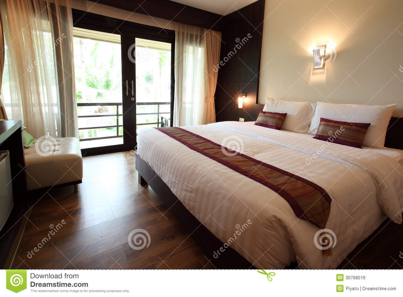Clean bedroom royalty free stock image image 30768516 for Clean bedroom pictures