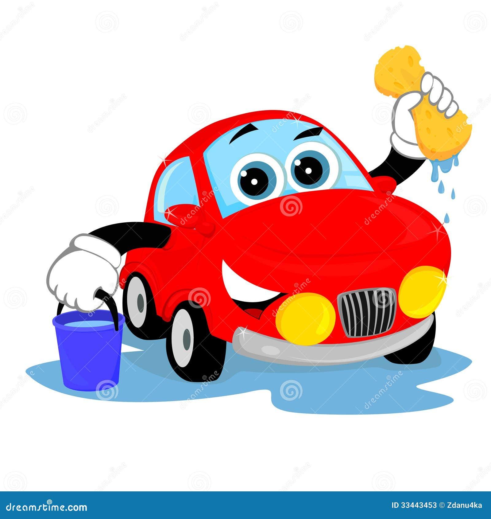 Clean Car Stock Vector. Illustration Of Transport