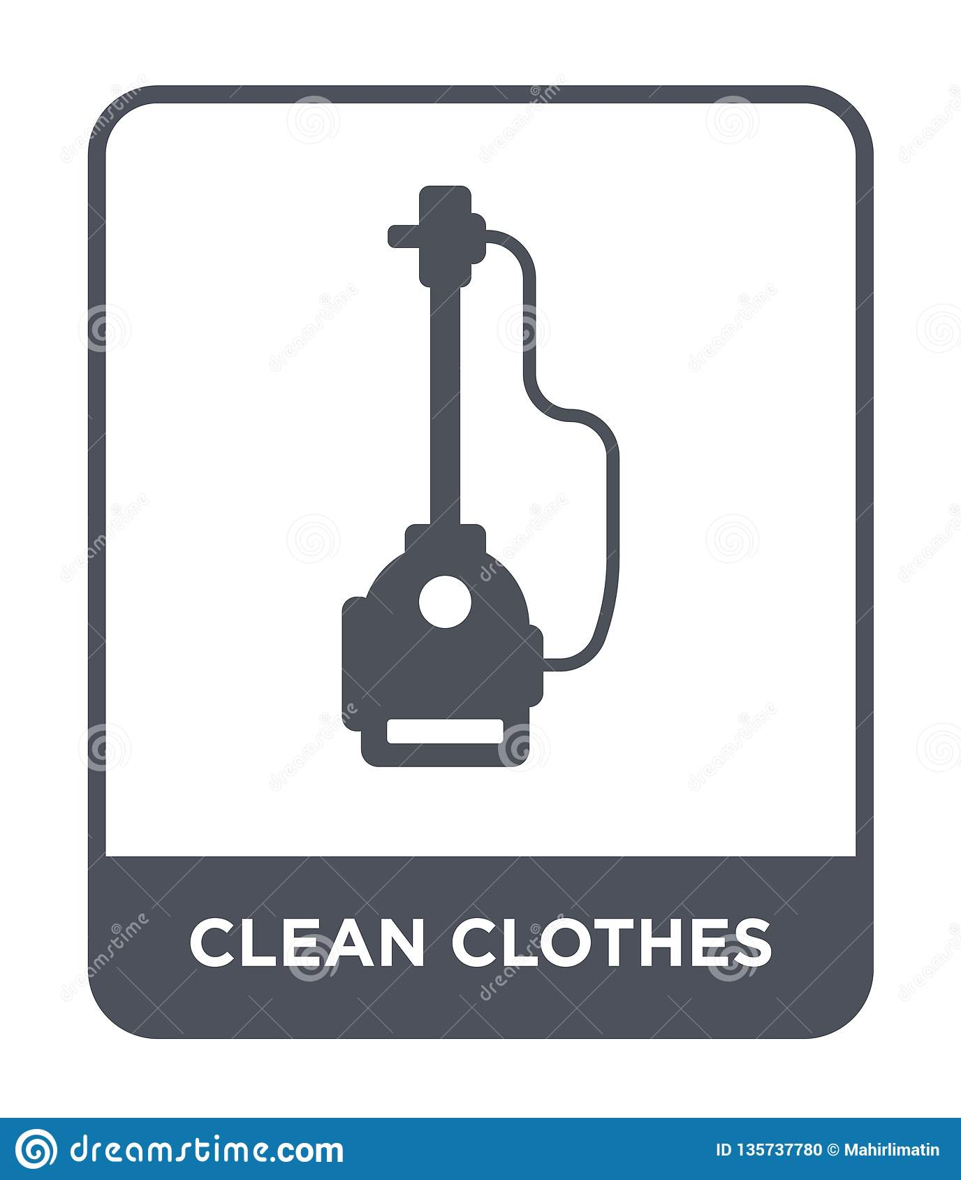clean clothes icon in trendy design style. clean clothes icon isolated on white background. clean clothes vector icon simple and