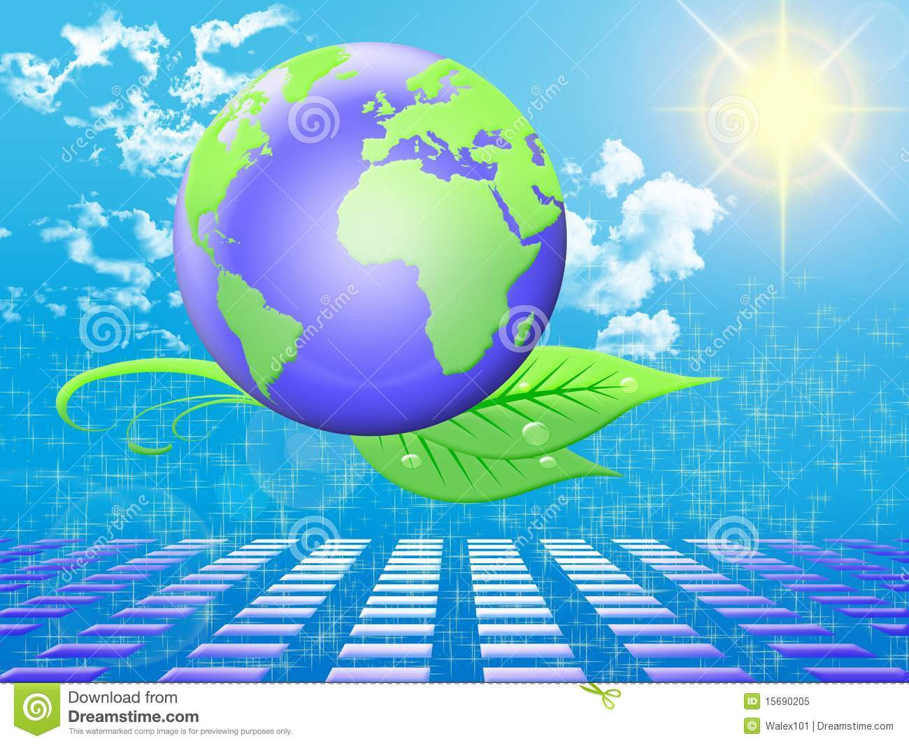 Clean Energy Royalty Free Stock Photo - Image: 15690205