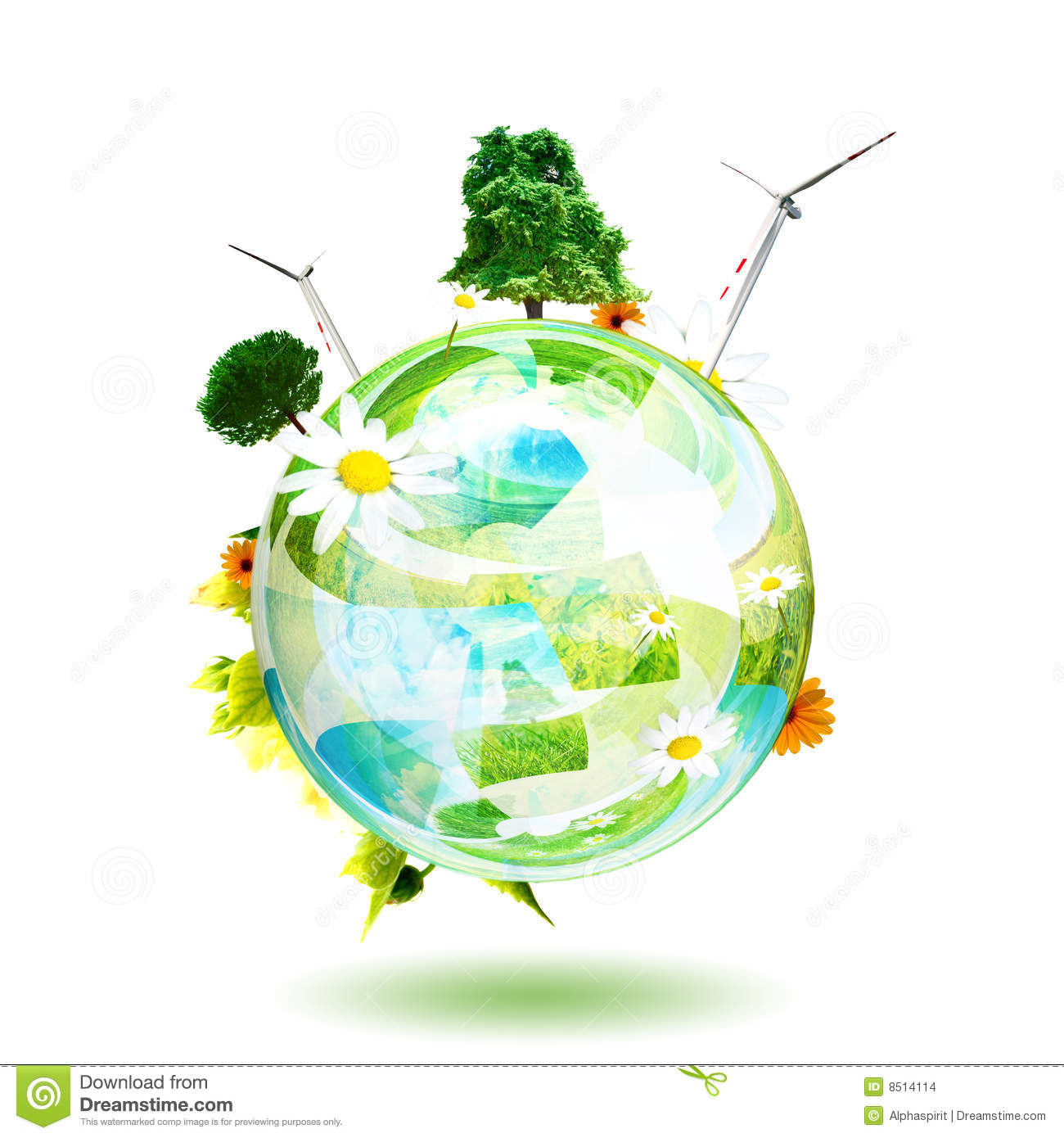 clean environment concept stock illustration image of ecology  clean environment concept