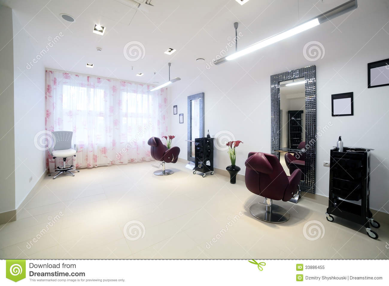 Clean european hair salon royalty free stock photo image for A fresh start beauty salon
