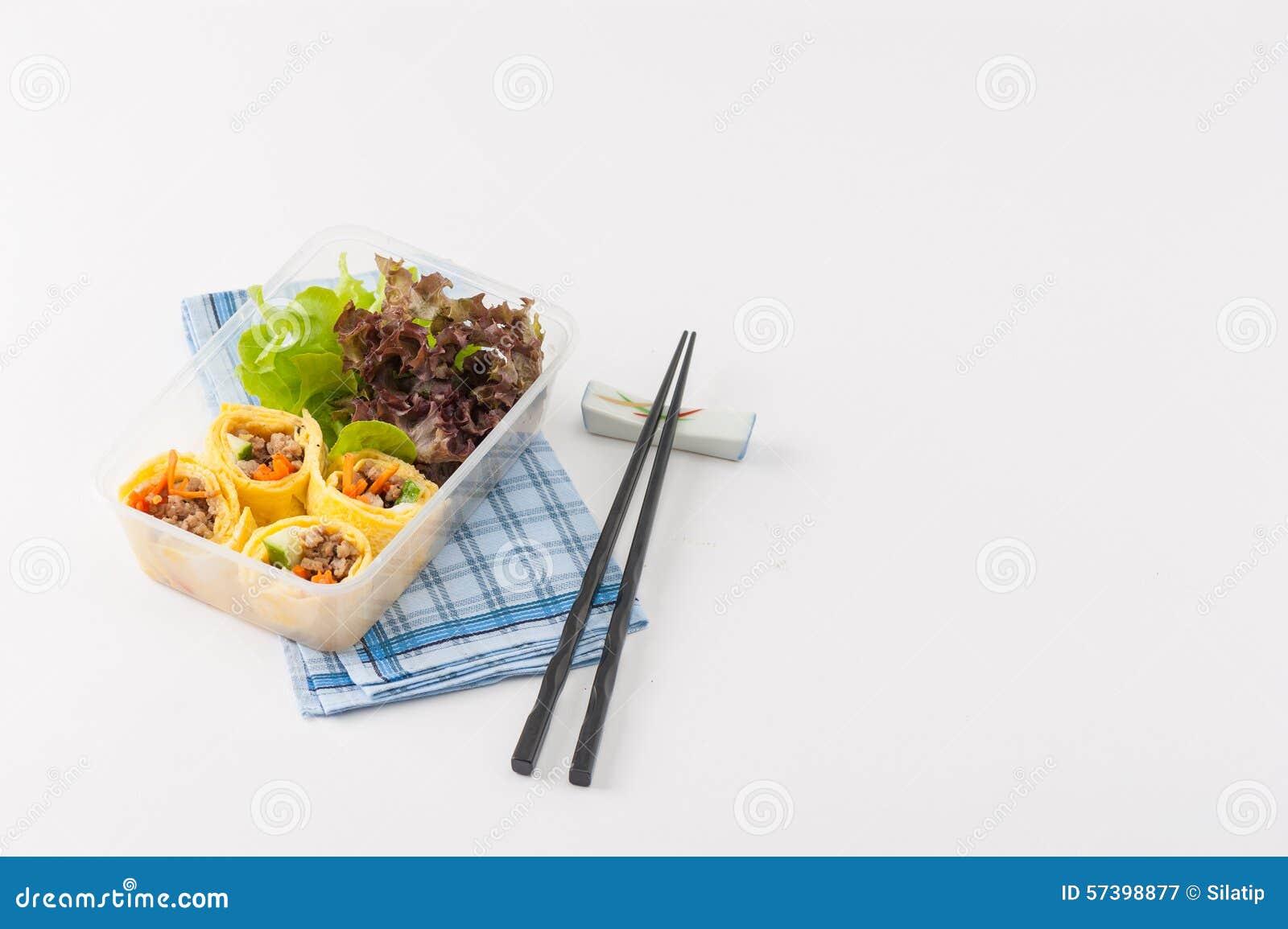 Thai Food Fresh Rolls