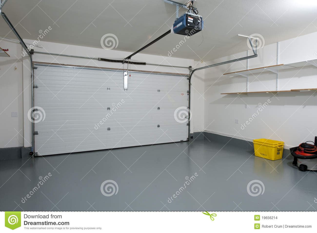 Entzuckend Clean Garage Stock Images