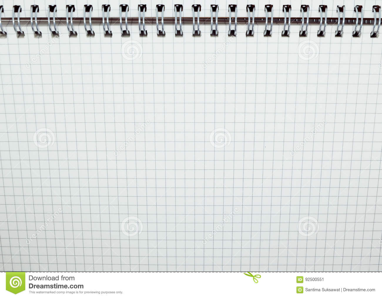 Clean Grid Paper Background Grid Notebook Stock Image Image Of
