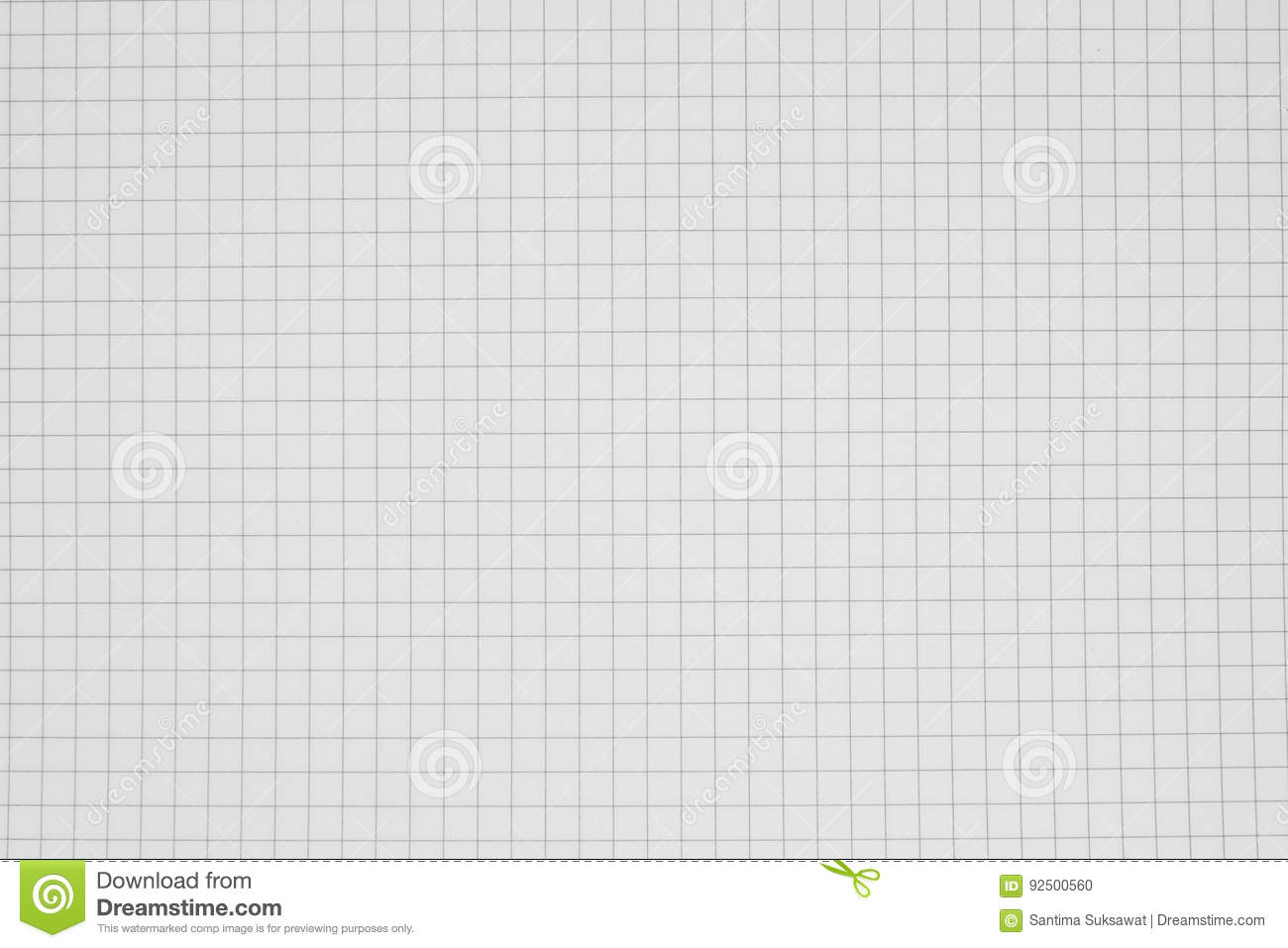 clean grid paper background   grid notebook stock photo