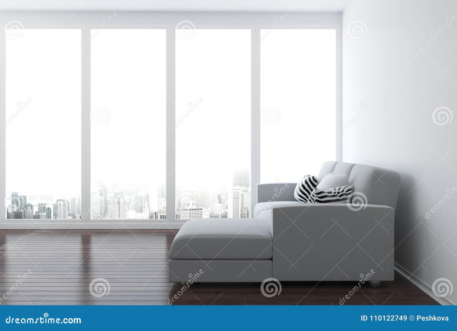 Clean living room stock illustration. Illustration of inside - 110122749