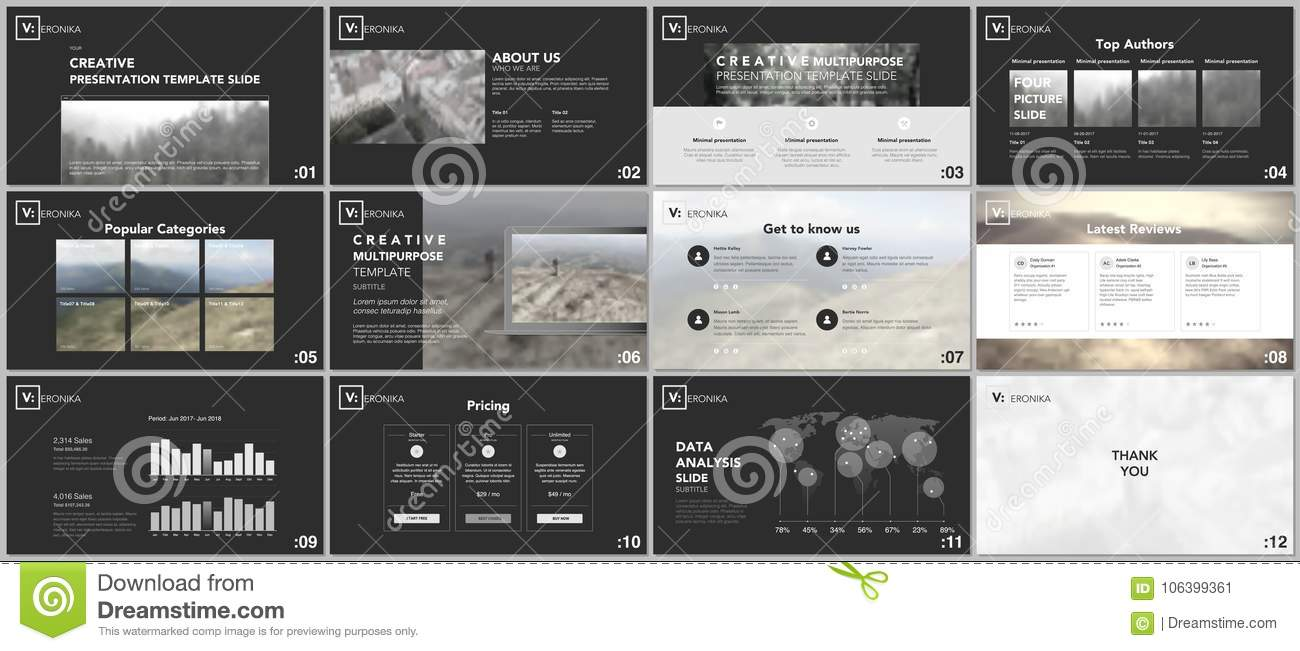 Clean minimal presentation templates simple elements on black download clean minimal presentation templates simple elements on black background for your portfolio template maxwellsz