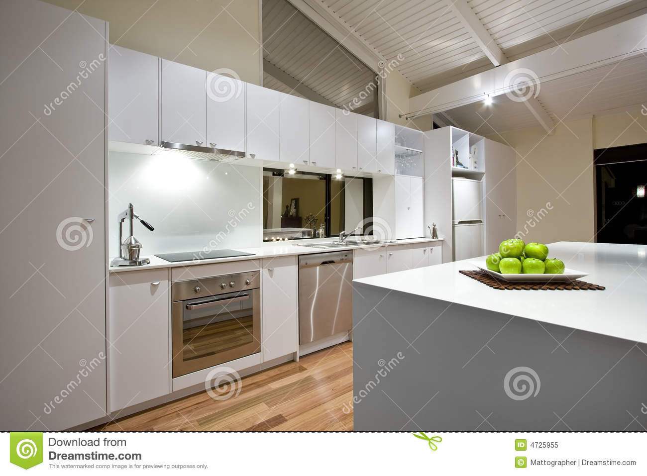Clean modern kitchen royalty free stock photo image 4725955 for Cuisine moderne