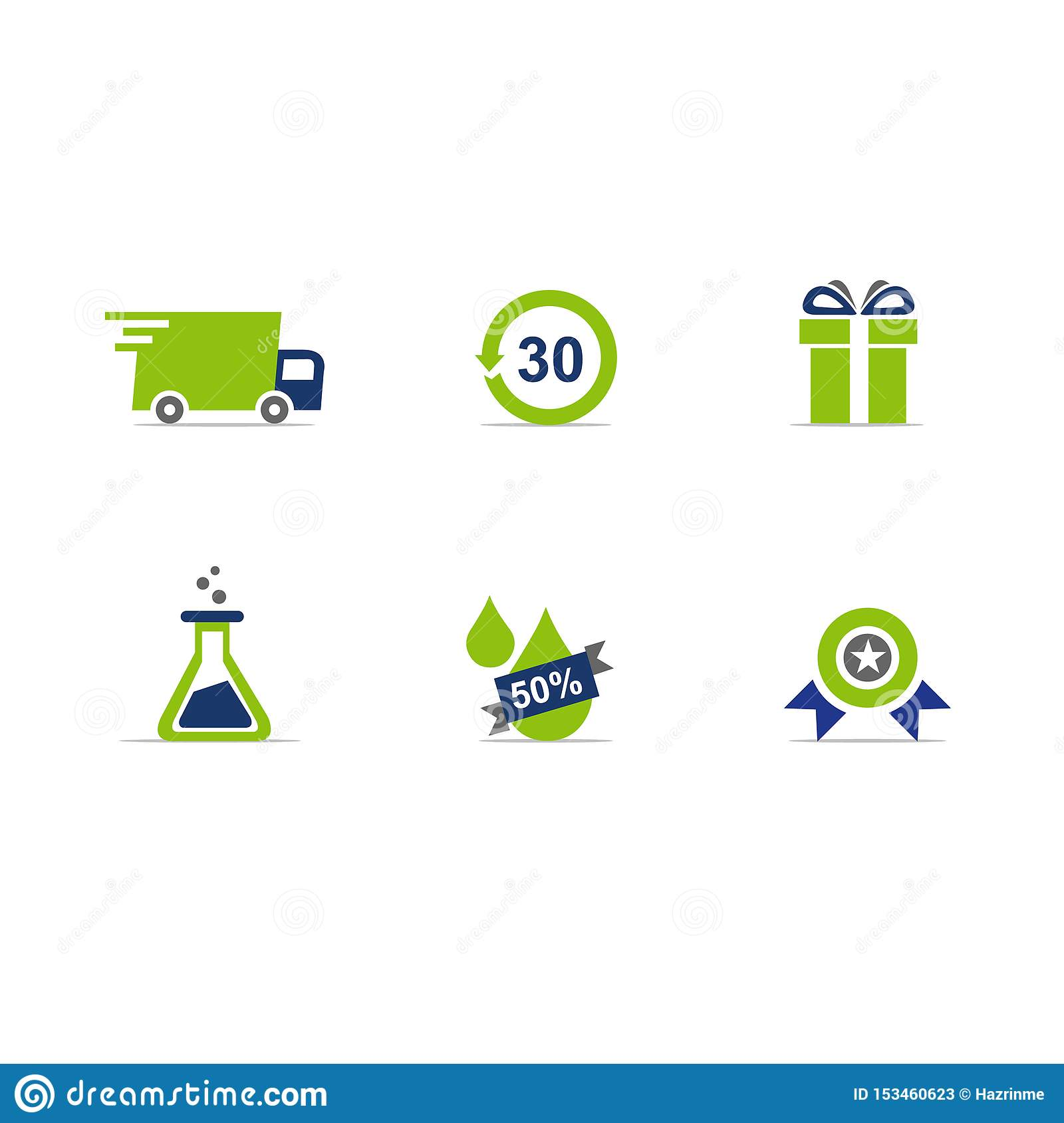 ECommerce website icons vector format