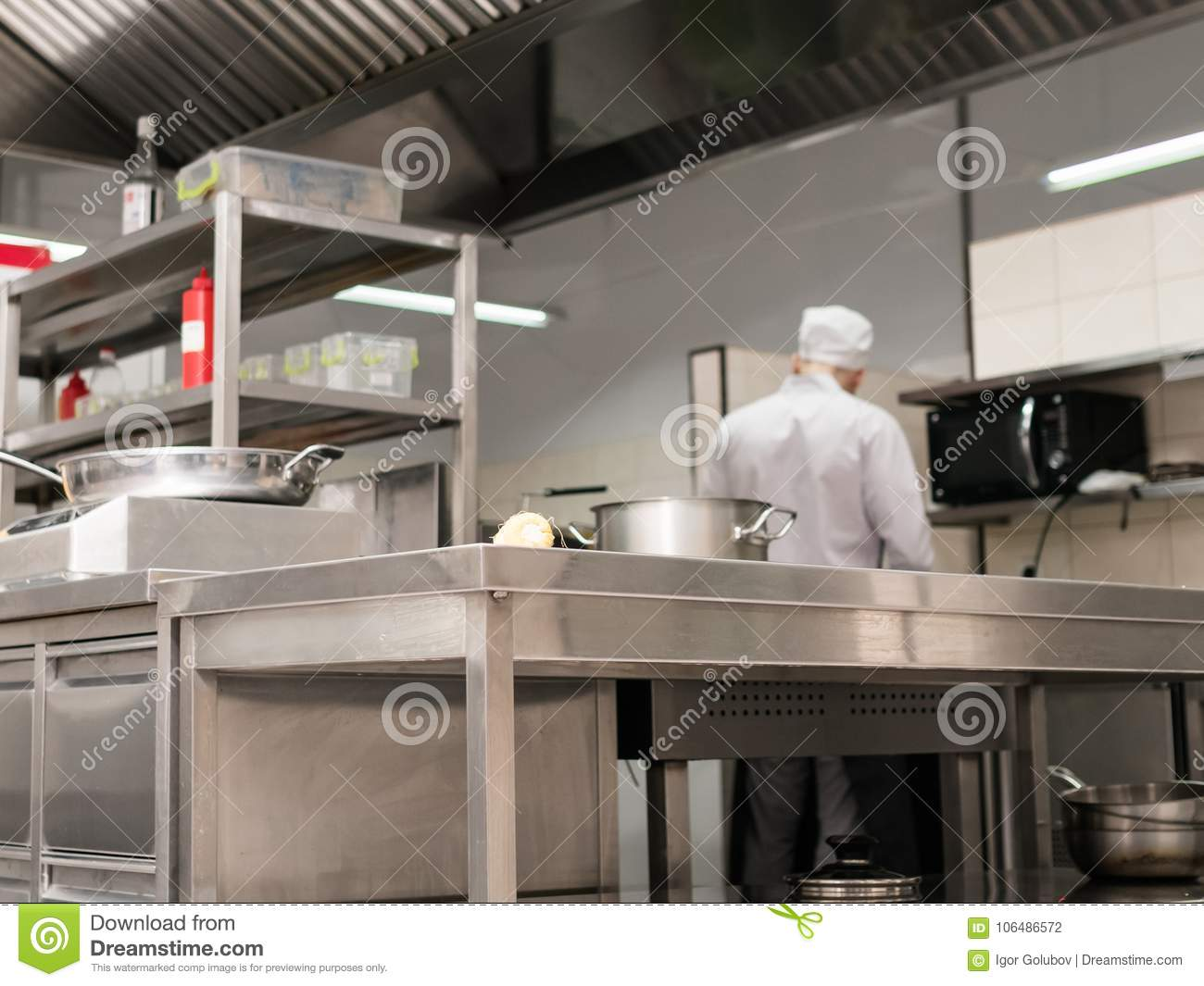 247 Modern Restaurant Kitchen Interior Workplace Photos Free Royalty Free Stock Photos From Dreamstime