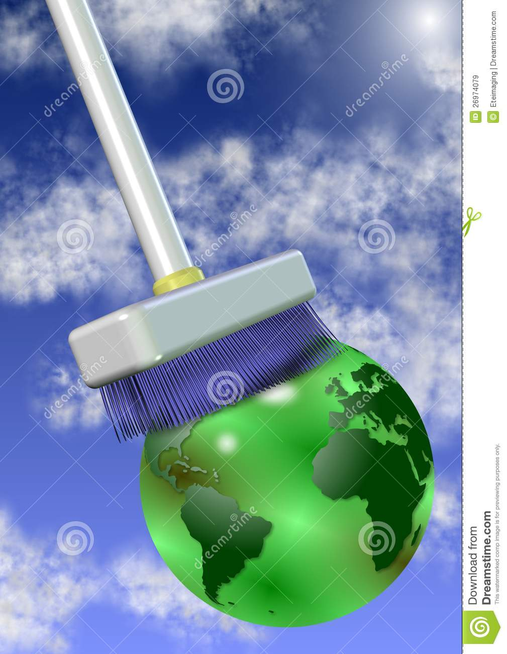 Clean The Planet Royalty Free Stock Images - Image: 26974079