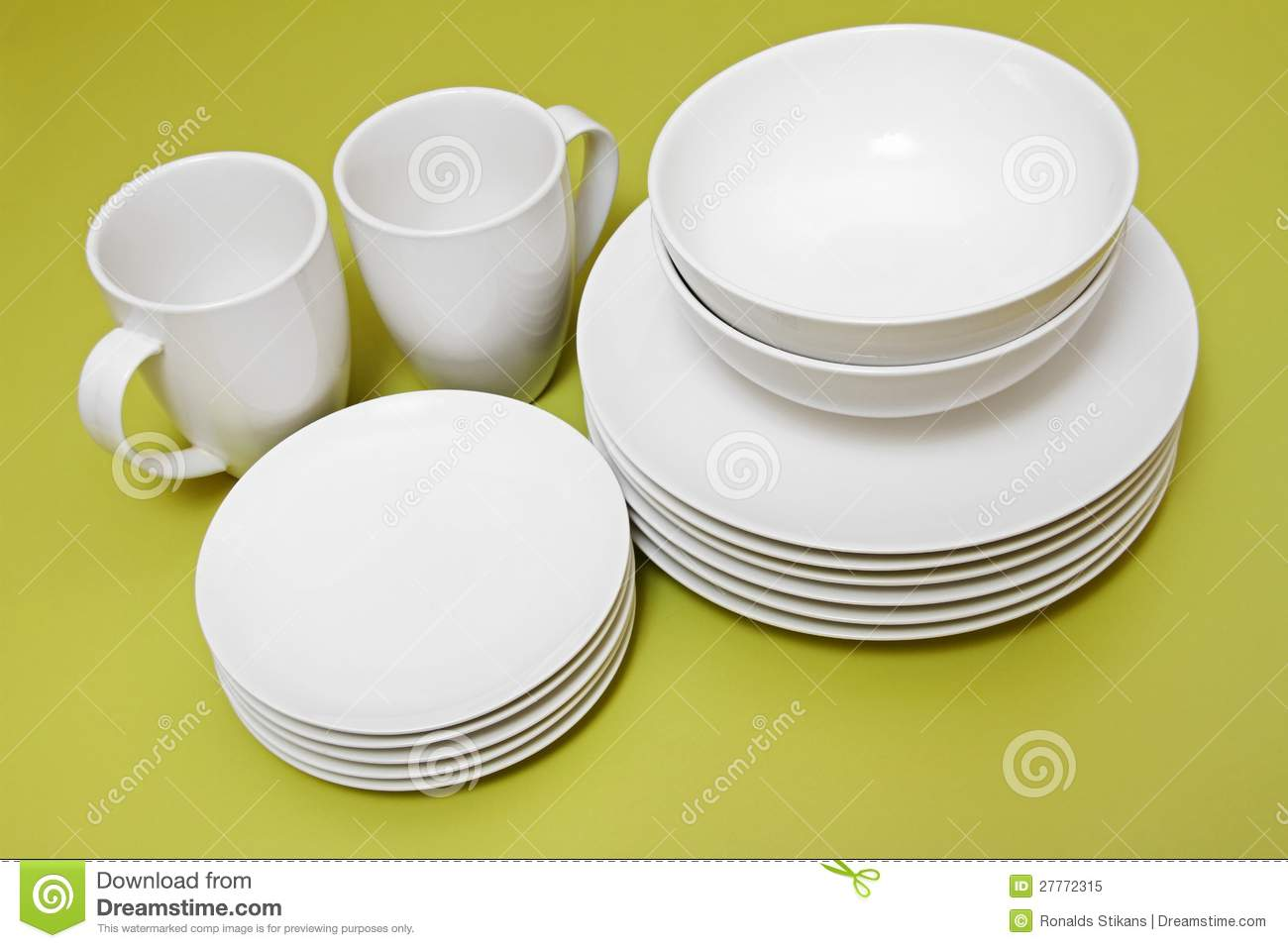 Clean Plates Bowls And Cups Royalty Free Stock Photo  : clean plates bowls cups 27772315 from dreamstime.com size 1300 x 957 jpeg 74kB