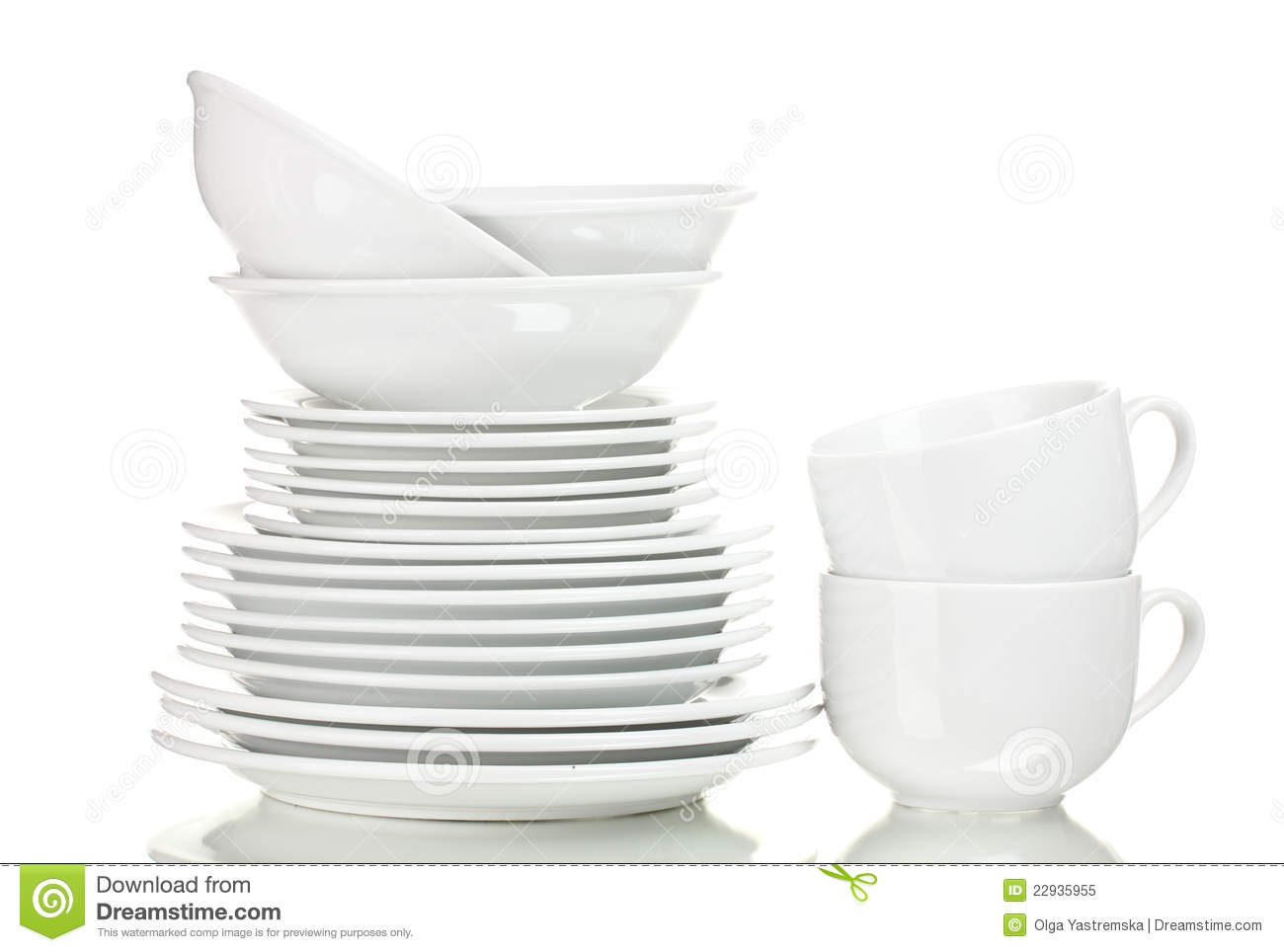 Clean Plates And Cups Royalty Free Stock Photo Image  : clean plates cups 22935955 from dreamstime.com size 1300 x 964 jpeg 65kB