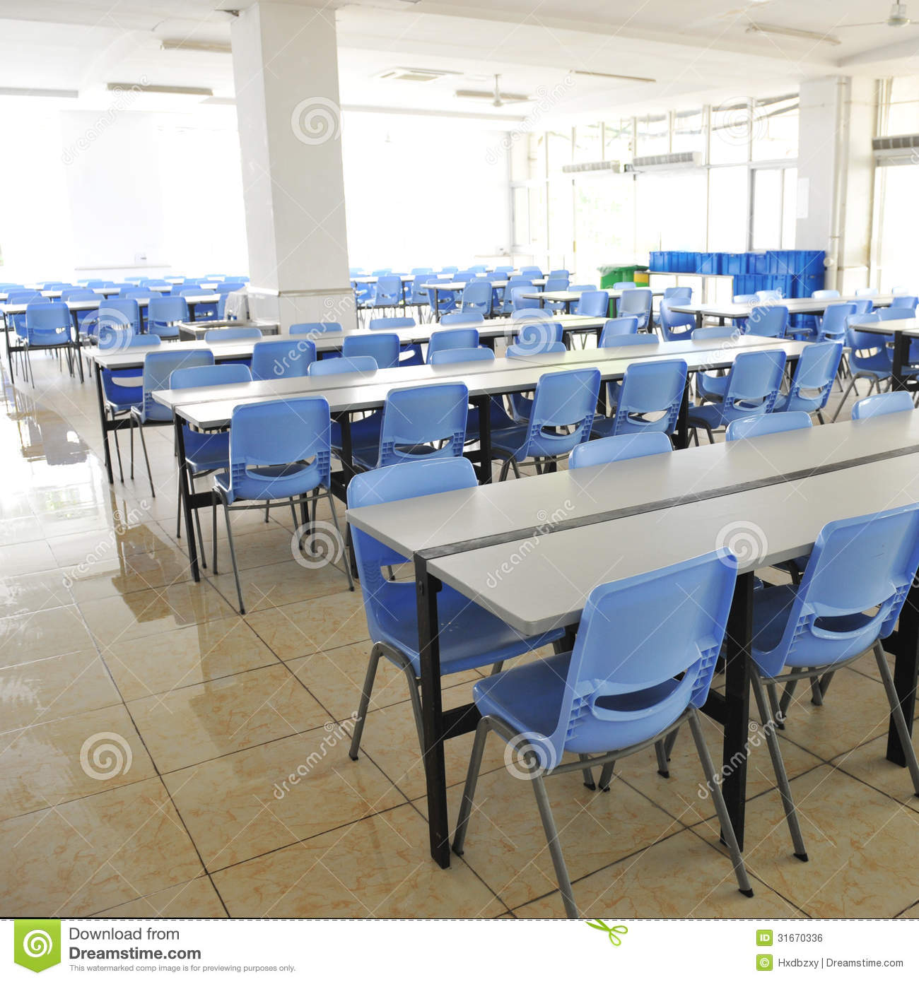 Clean cafeteria tables - Clean School Cafeteria Royalty Free Stock Image Image 31670336