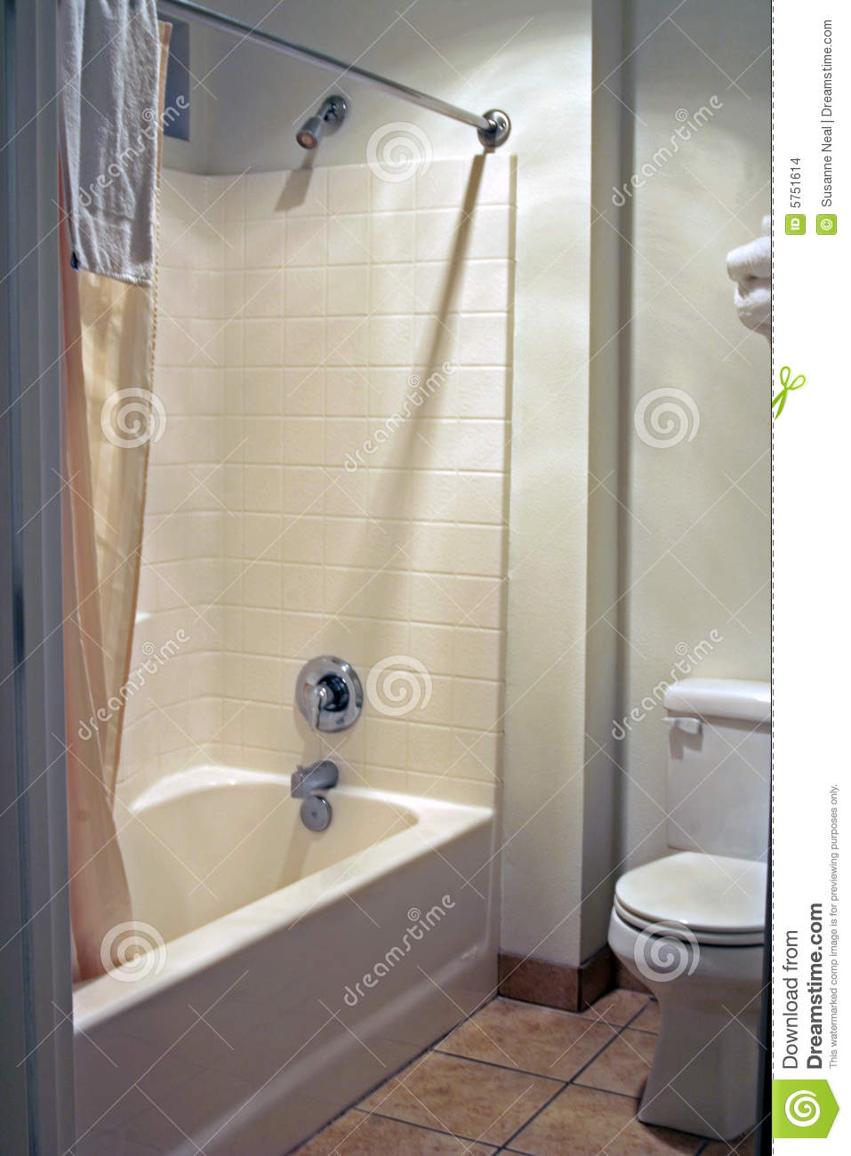 Clean and simple bathroom stock photo. Image of clean - 5751614