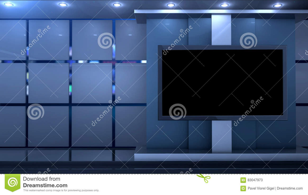 Clean Studio Virtual Background Stock Video - Video of color