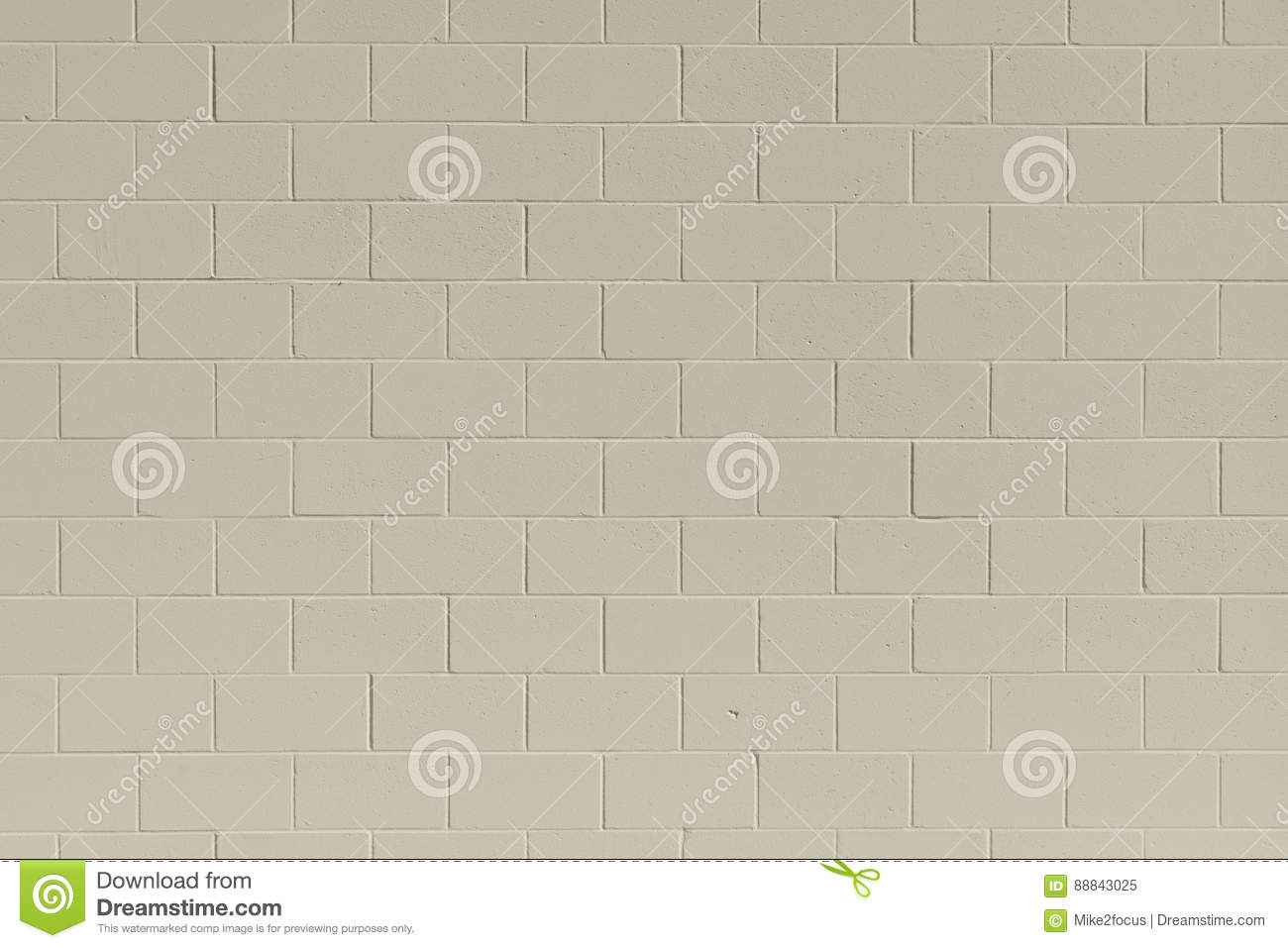 Painted cinder block wall texture - Background Block Brick Cinder Clean Freshly Painted Tan Wall