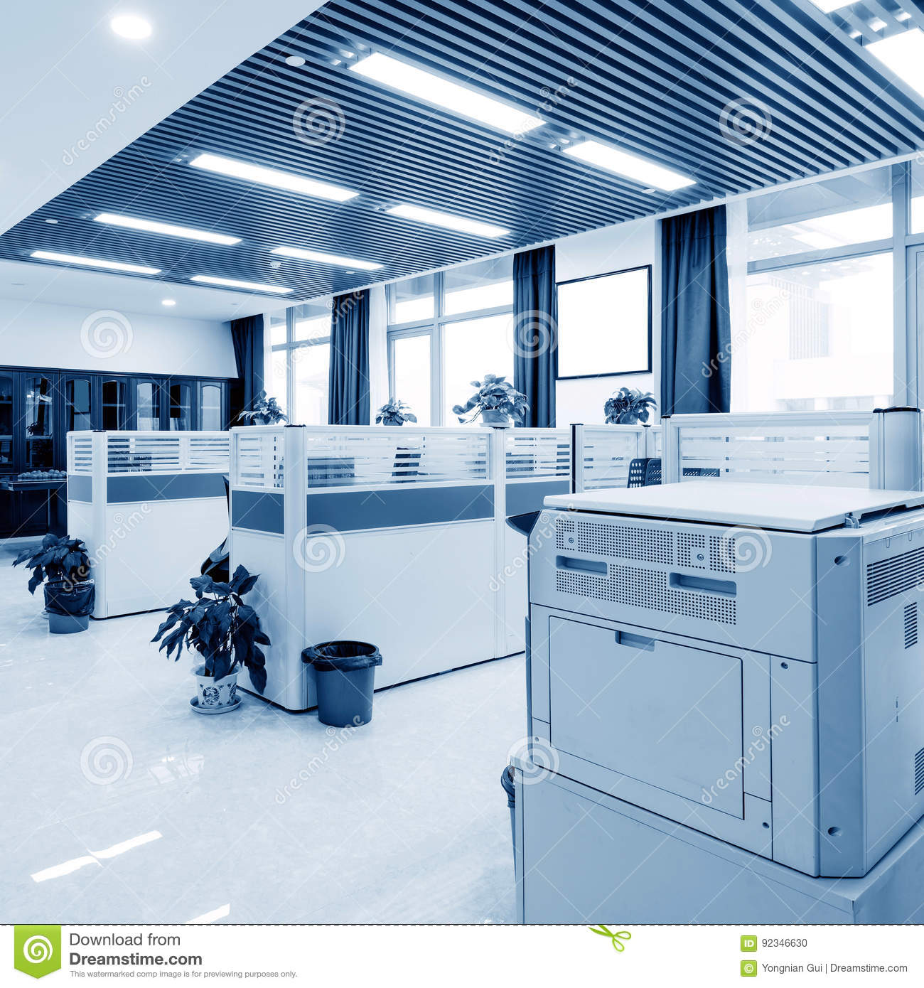 Clean and tidy office stock photo Image of empty nobody 92346630
