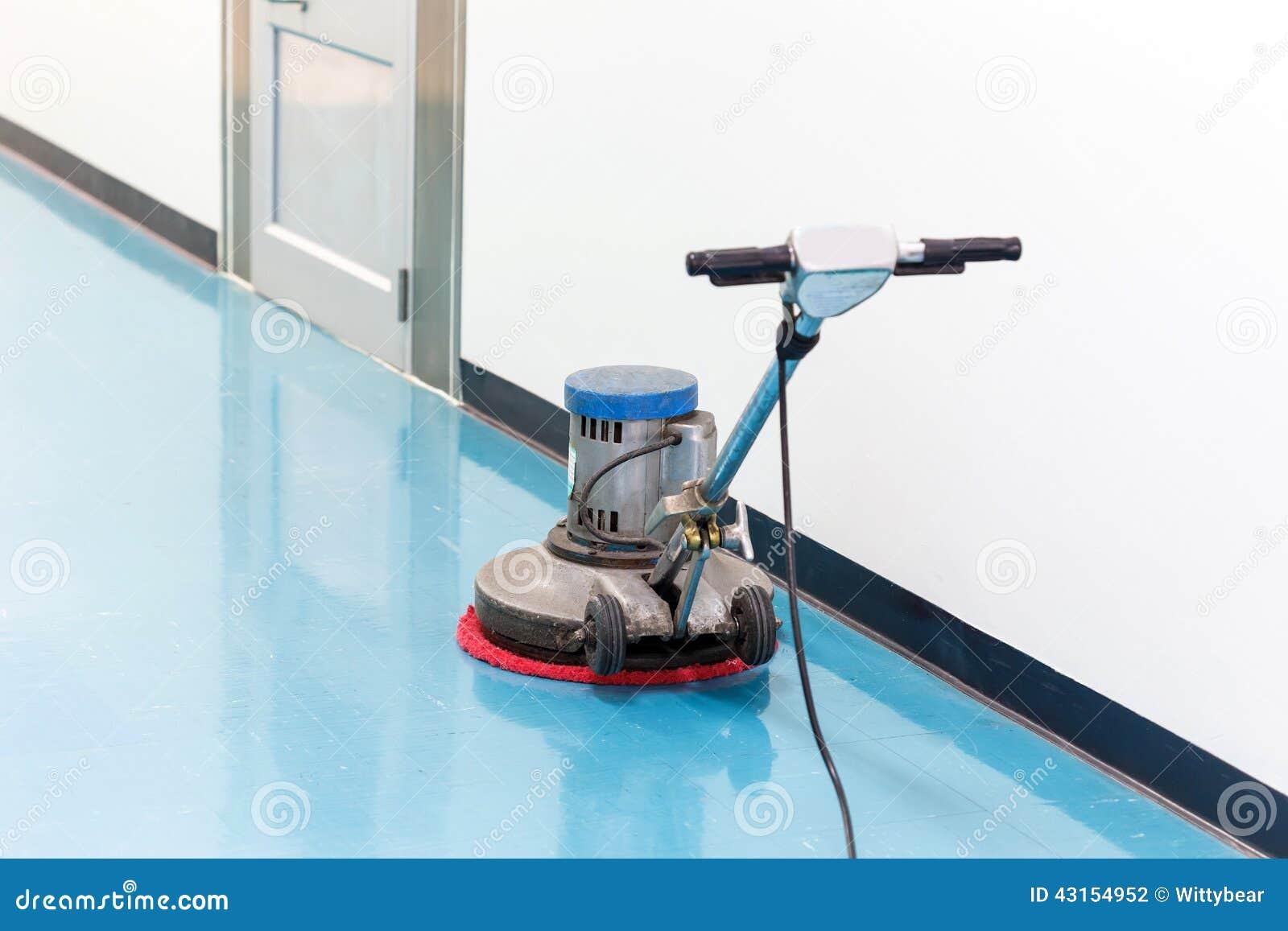 Cleaner machine for floor