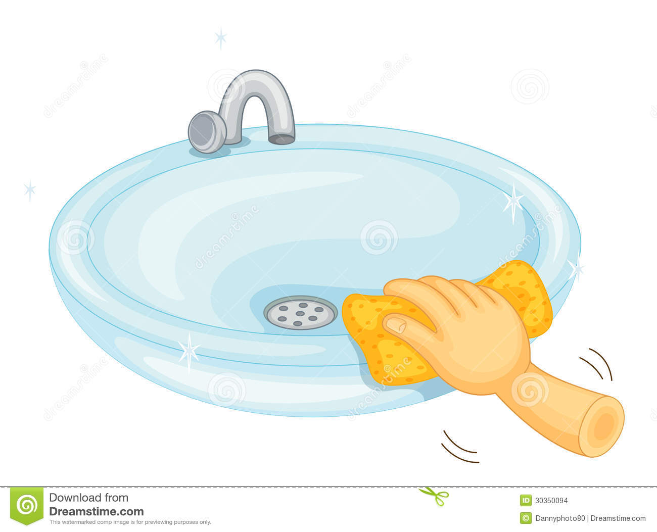 Cleaning Basin Stock Images Image 30350094