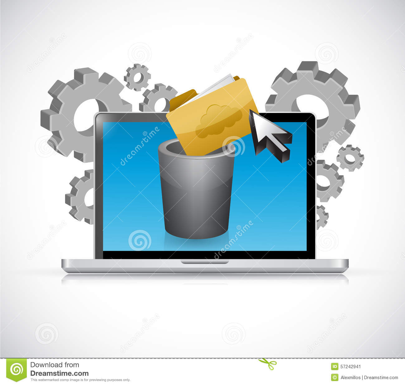 how to clean computer files