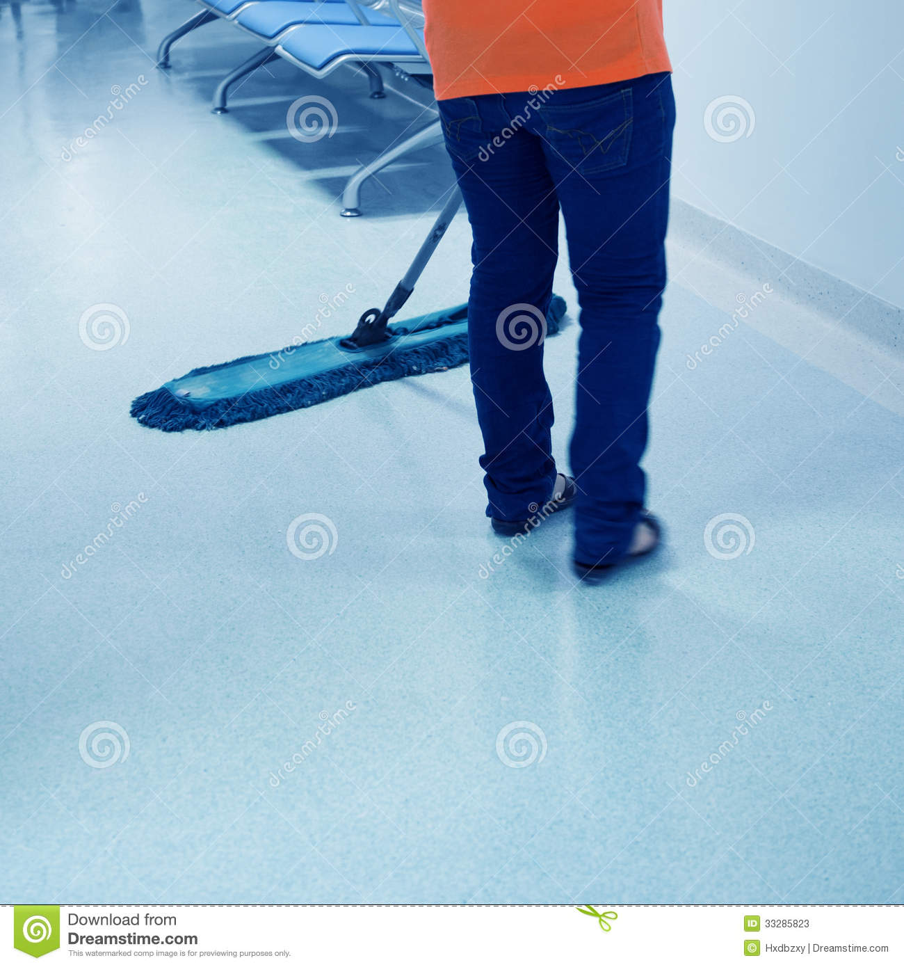 Cleaning floor stock image image of duty hospital for Floor someone