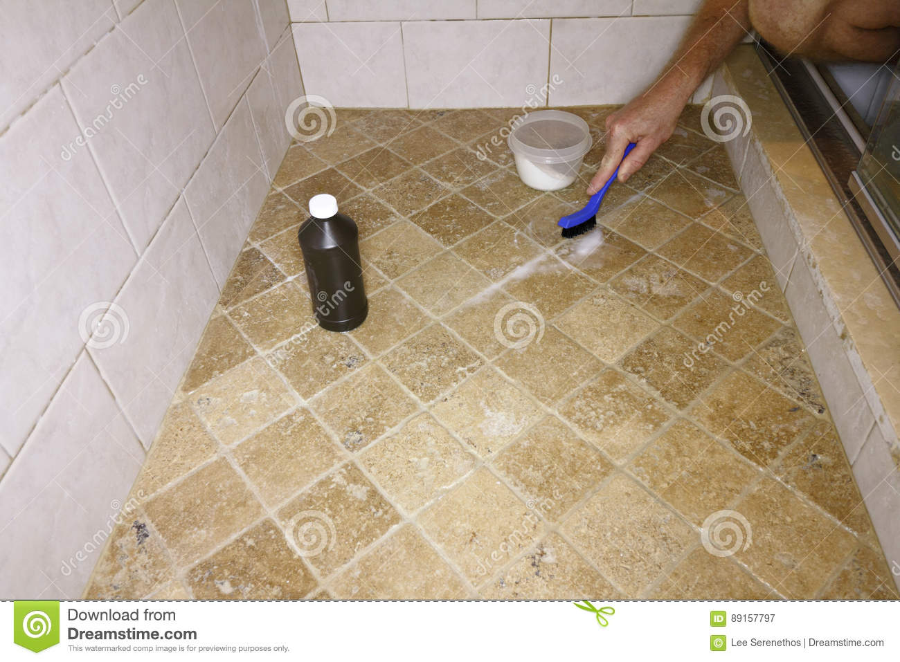 Cleaning Grout With Natural Ingredients