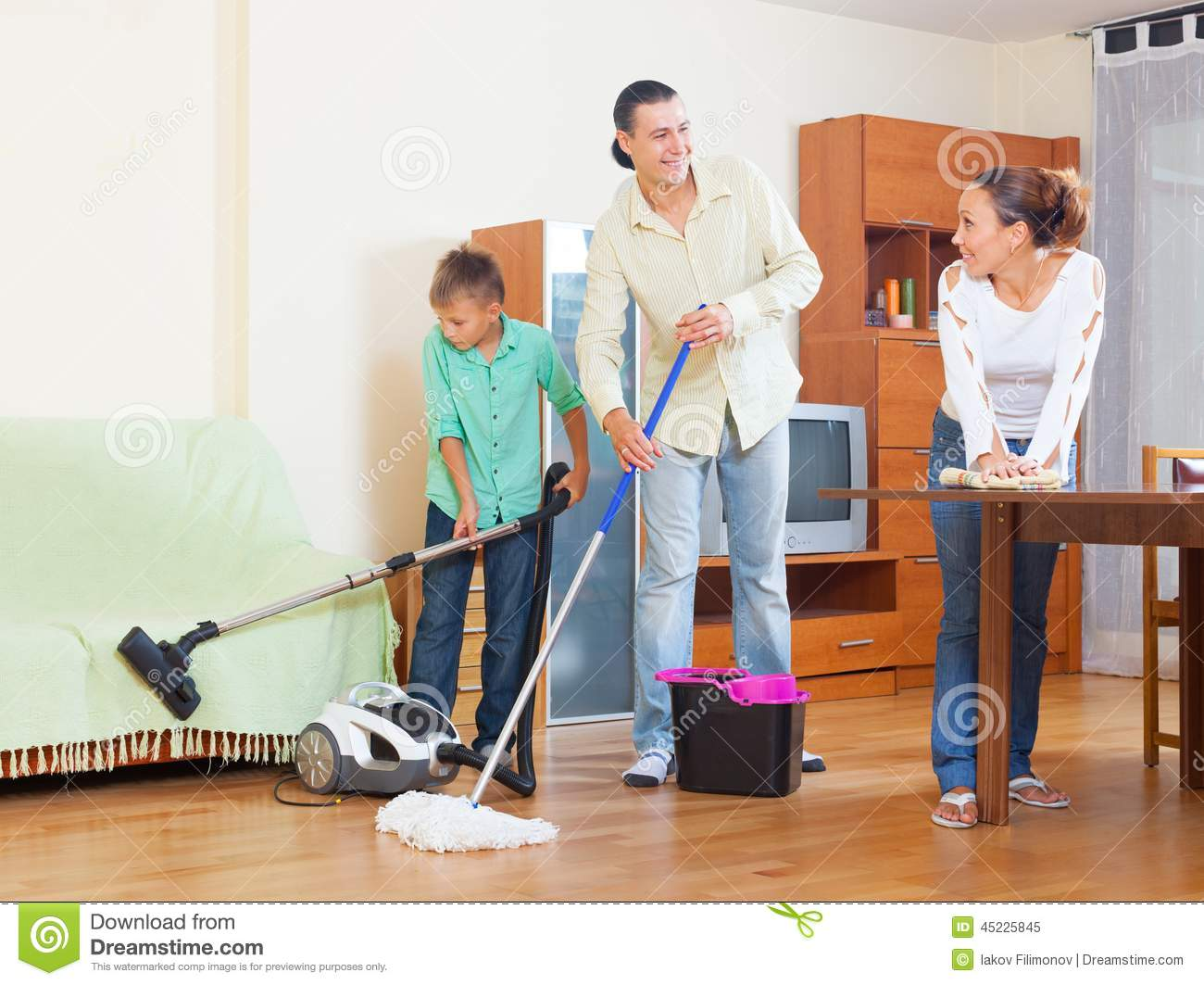 Cleaning stock photo image 45225845 for House cleaning stock photos