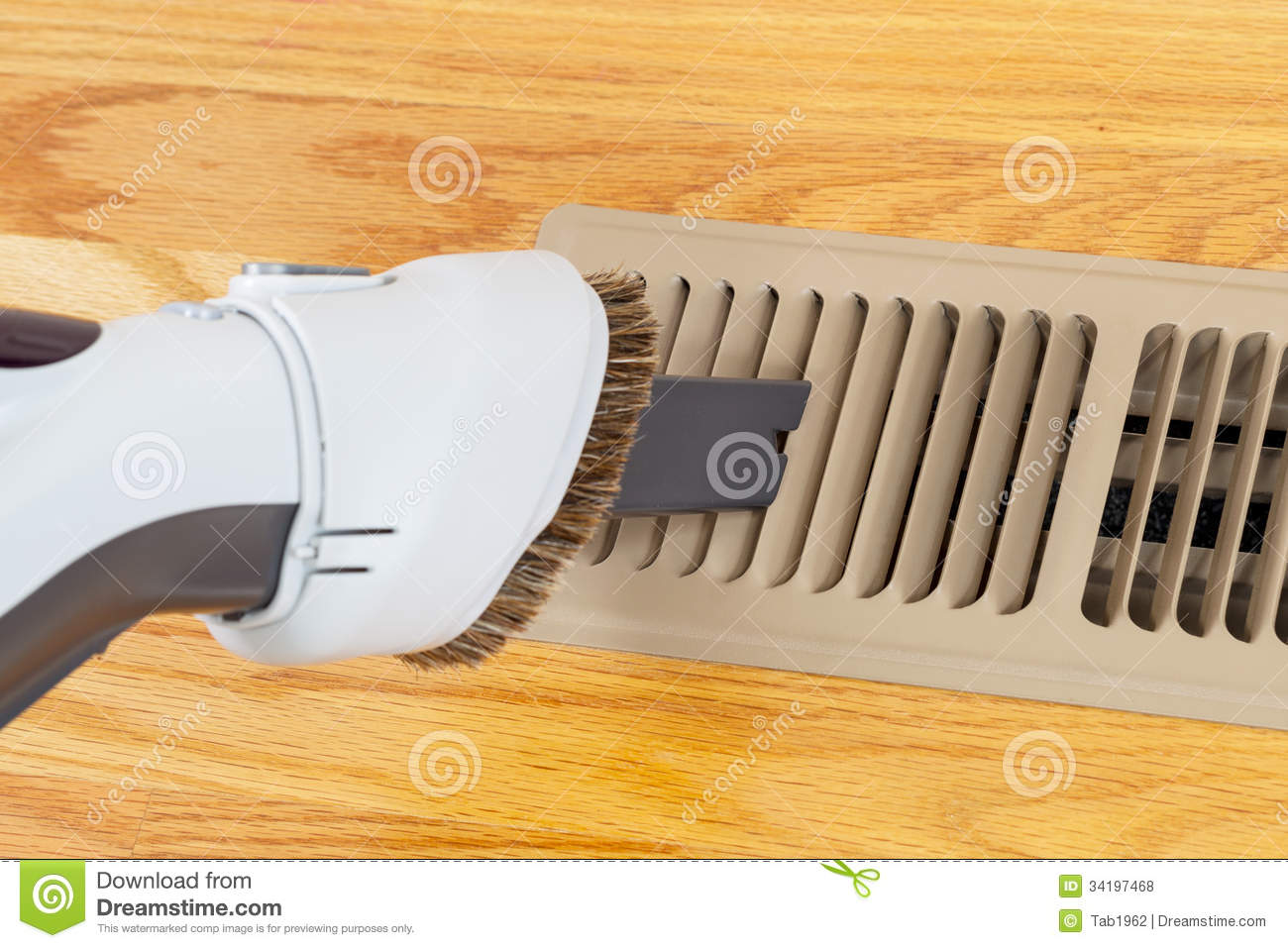 Cleaning heater vent withVacuum