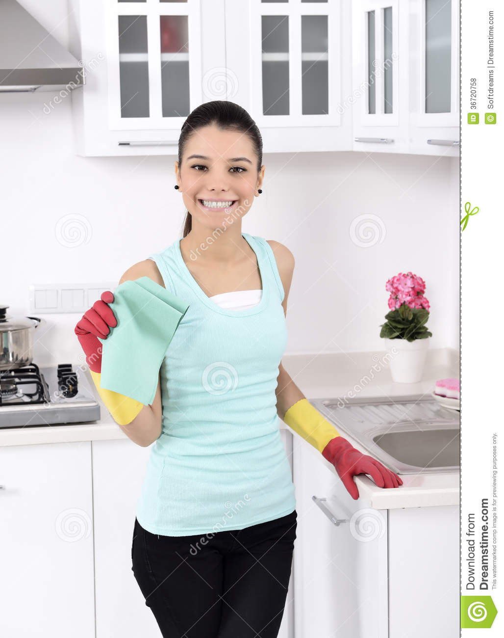 Cleaning the house royalty free stock photos image 36720758 for House cleaning stock photos