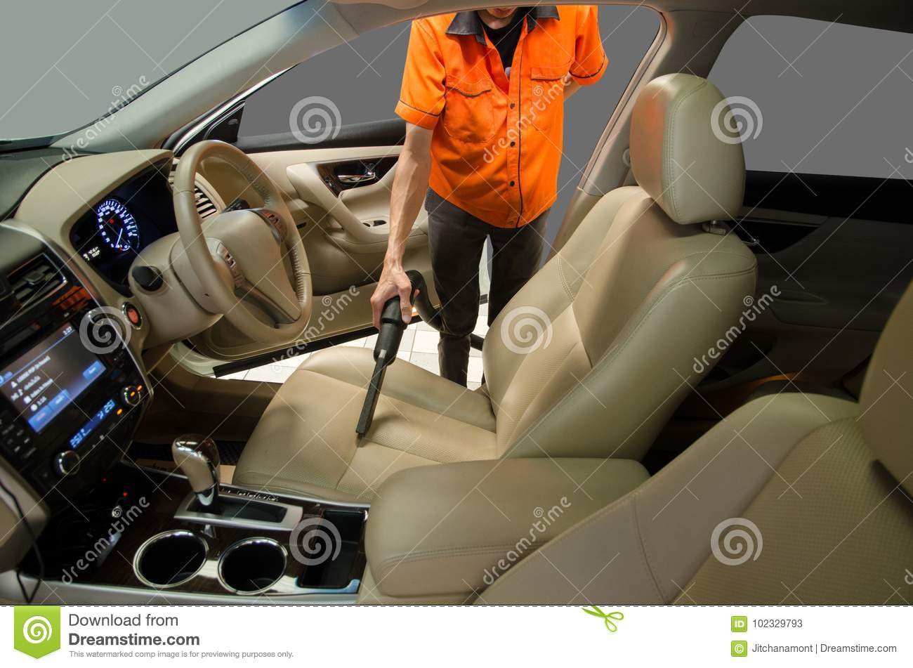 car cleaner upholstery wikihow interior step ways to clean