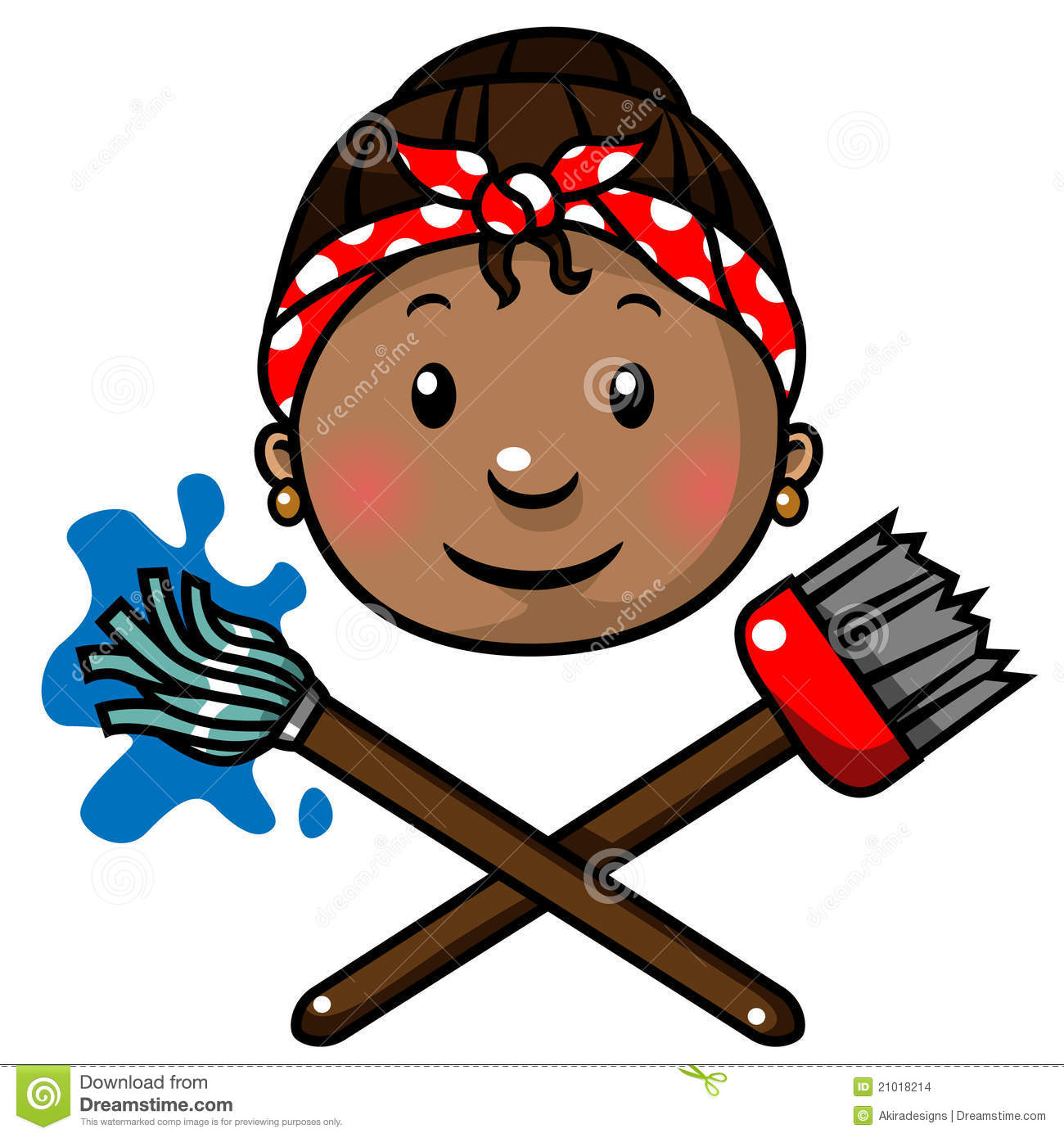 Cleaning Lady Room Service Icon Isolated Stock Vector ... |Cleaning Lady Icon