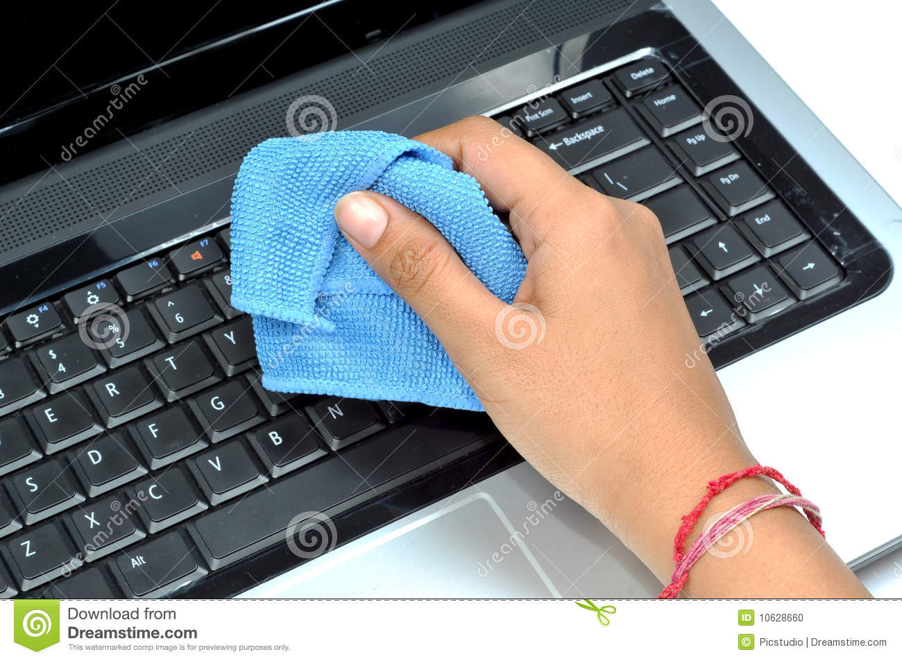 cleaning laptop keyboard stock photo image of shot cleaning 10628660. Black Bedroom Furniture Sets. Home Design Ideas
