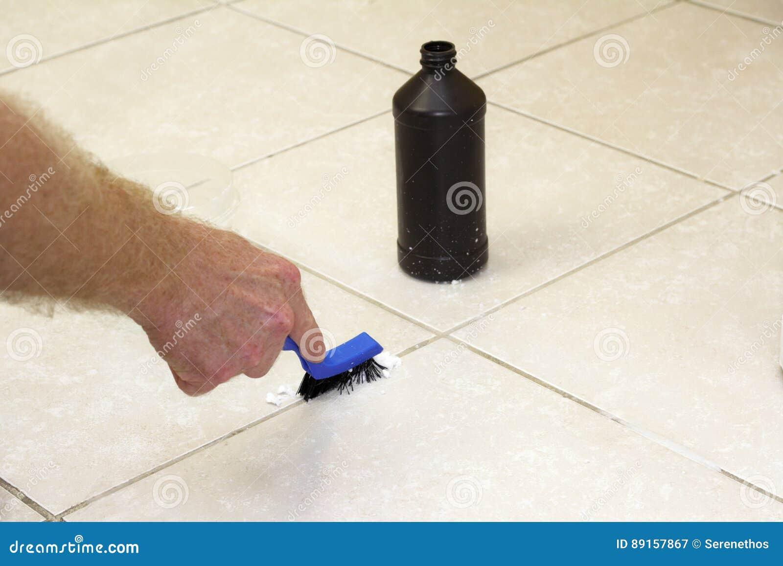 Cleaning Podłogowy Grout z Wypiekową sodą