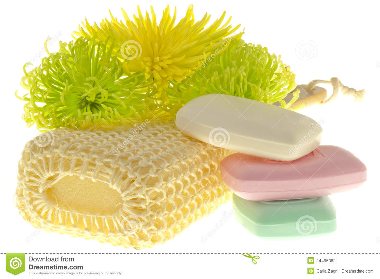 Cleaning Products Of The Body Stock Photography Image