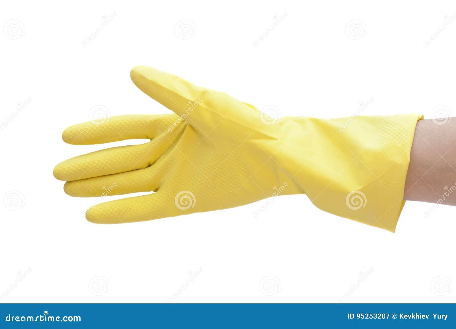 Cleaning rękawiczkowy ręki lateks