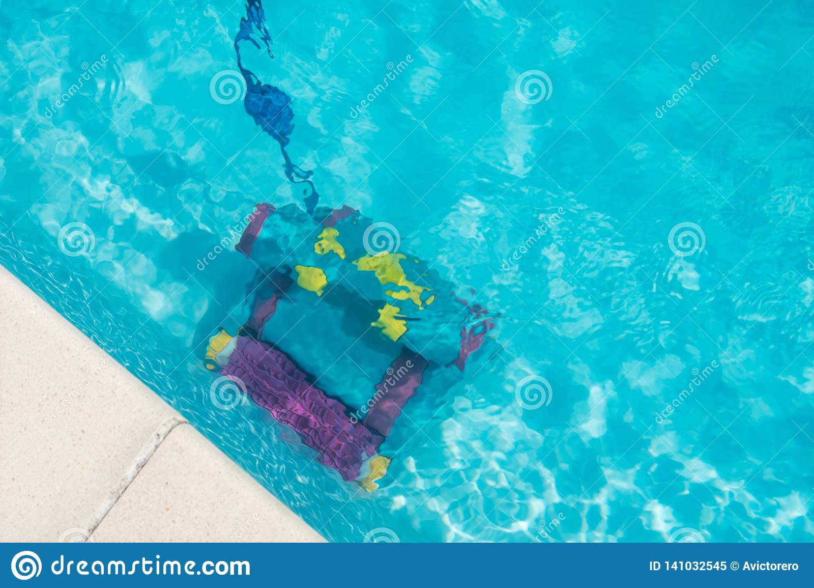 Cleaning Robot For Cleaning The Bottom Of Swimming Pool ...