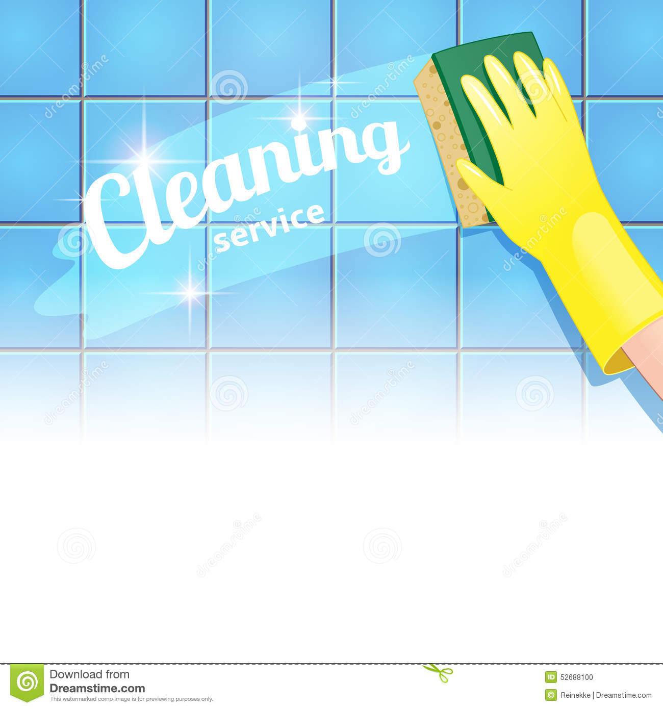 Cleaning Service Stock P O Image